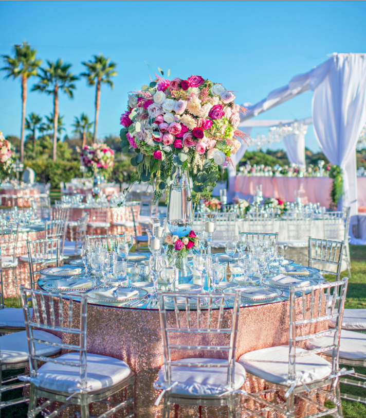 Christie Rose Events, St. Regis Monarch Beach Wedding